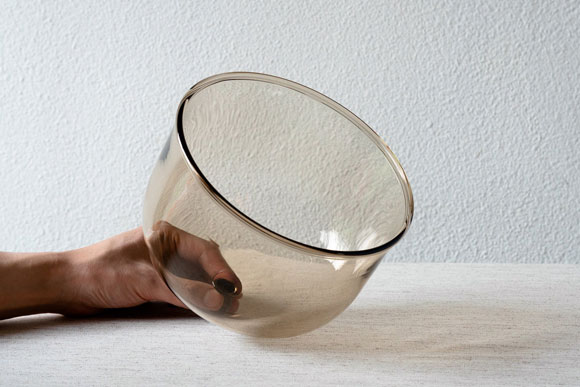 永木卓さん(RITOGLASS)ガラスドーム