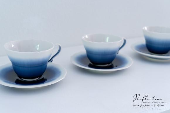 永草陽平さんのカップ&ソーサー